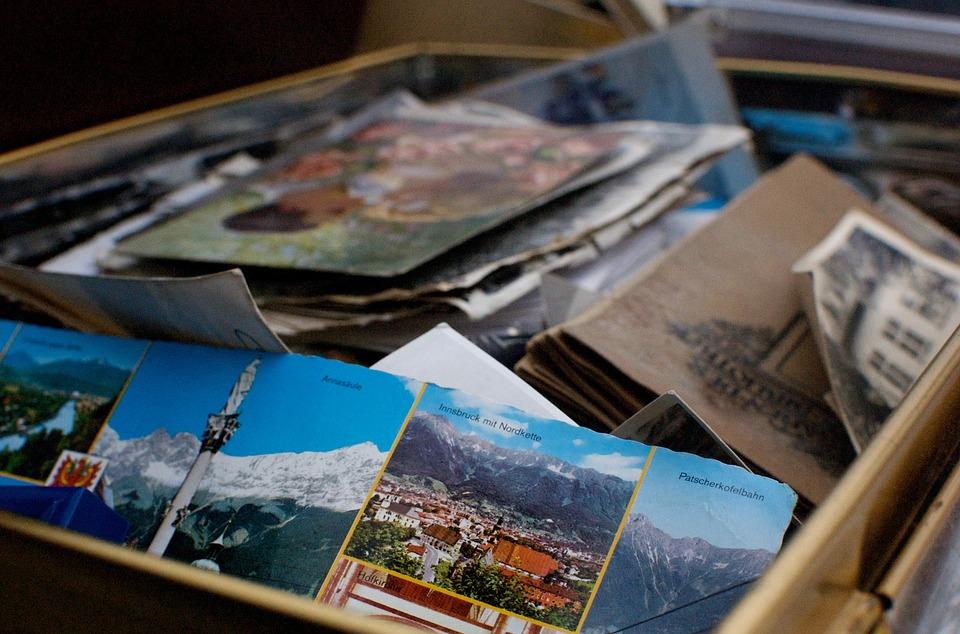 Tenha uma caixa de lembranças