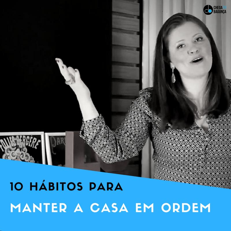 10 hábitos para manter a casa em ordem | YouTube