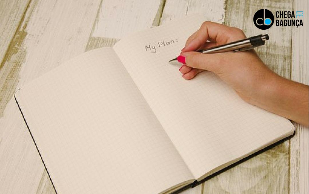 10 maneiras para começar a se organizar