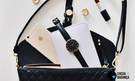 6 dicas para uma bolsa organizada