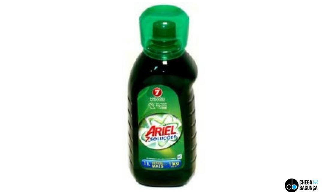 Ariel líquido   Resenha de Produto