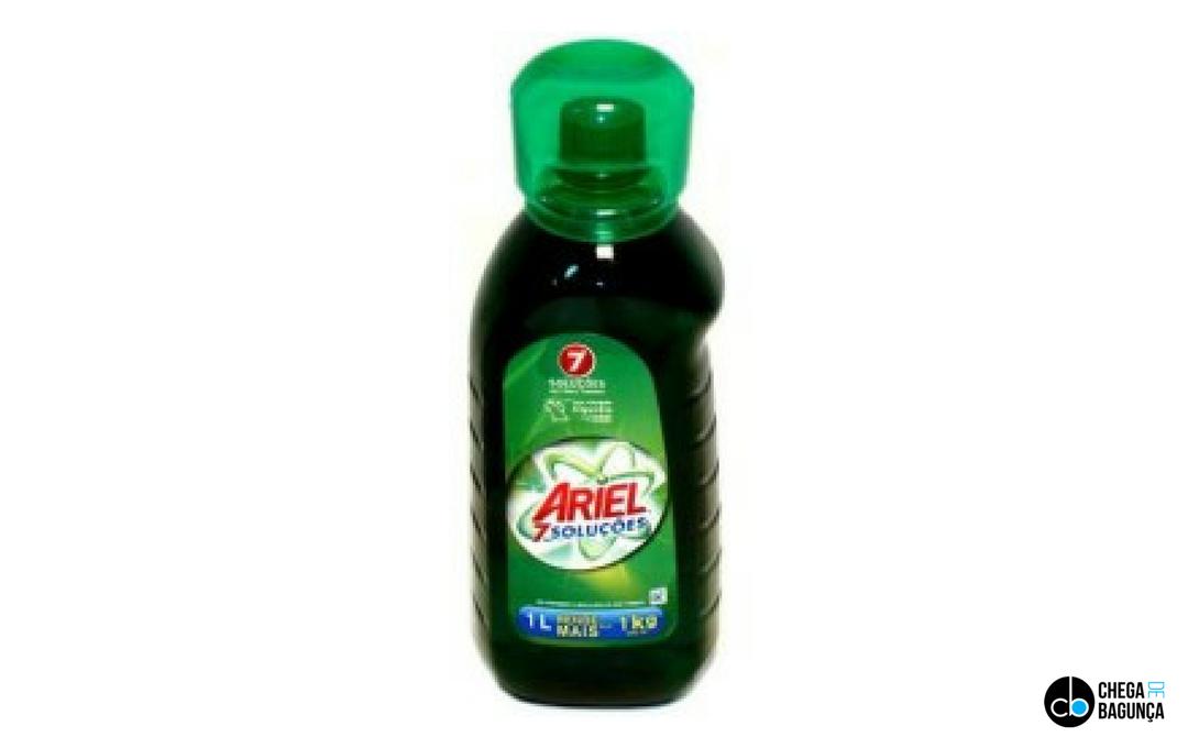 Ariel líquido | Resenha de Produto