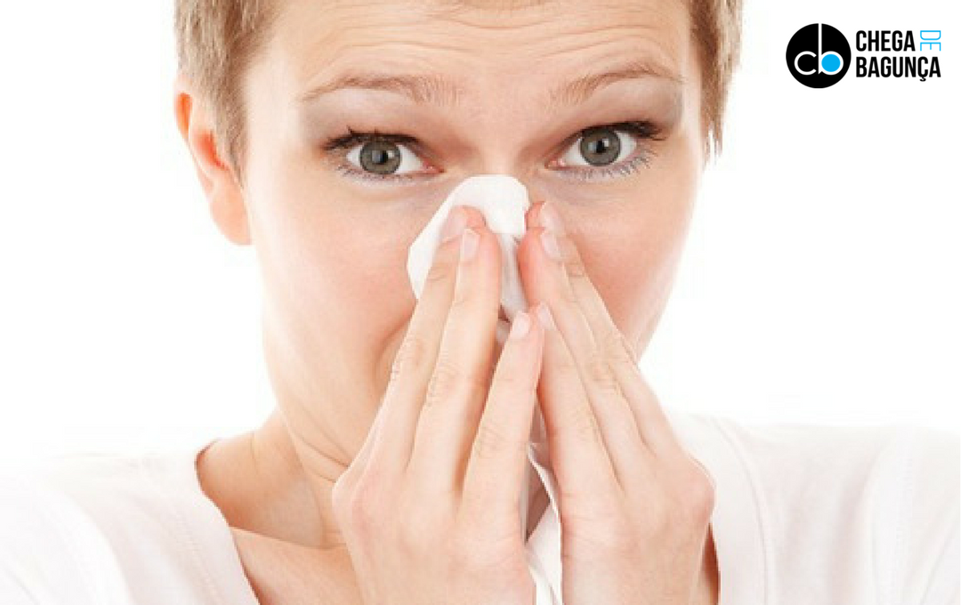 Guia de limpeza doméstica para alérgicos